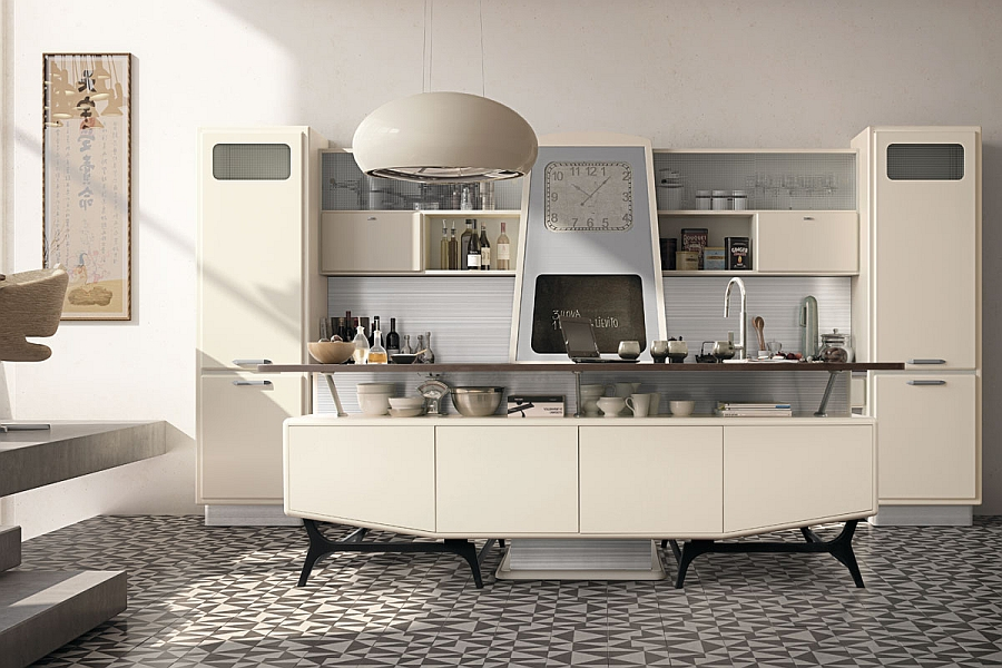 1950s Style Kitchen vintage kitchen offers a refreshing modern take on fifties style