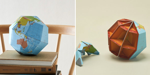 Geometric sectional globe