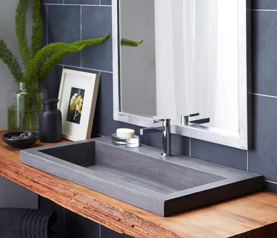 Give your home an elegant and minimal sink
