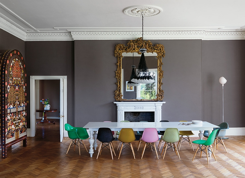 Giving your home a grand and colorful makeover