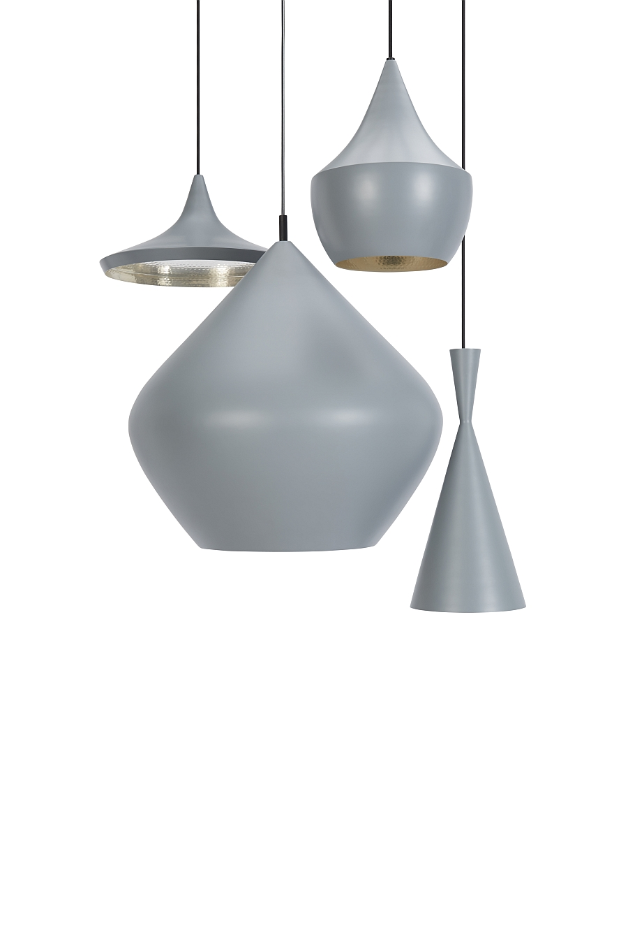 Gorgeous Beat lights in Grey at Milan Design Fair 2014