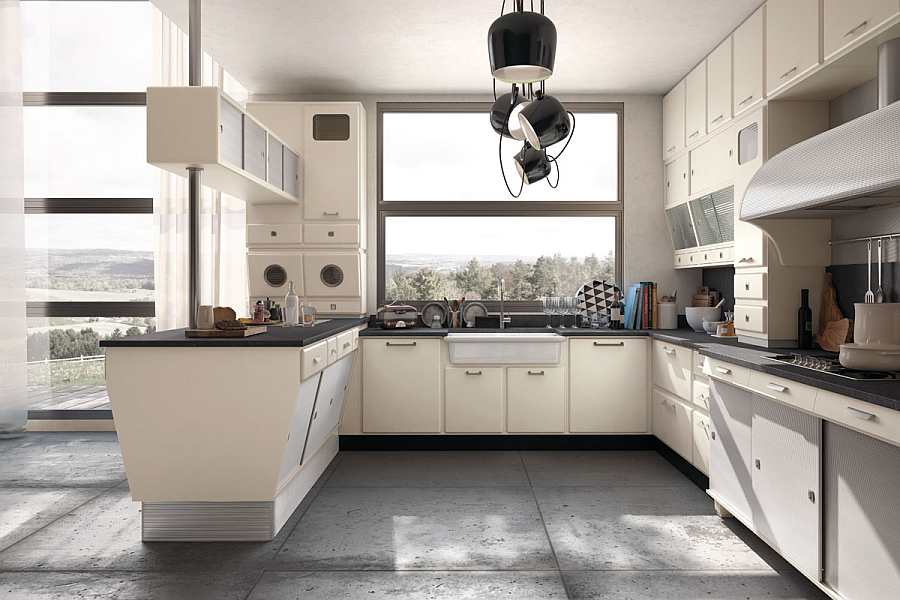 Gorgeous vintage kitchen from Marchi