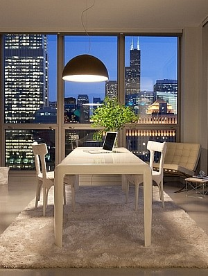 Home office lighting idea