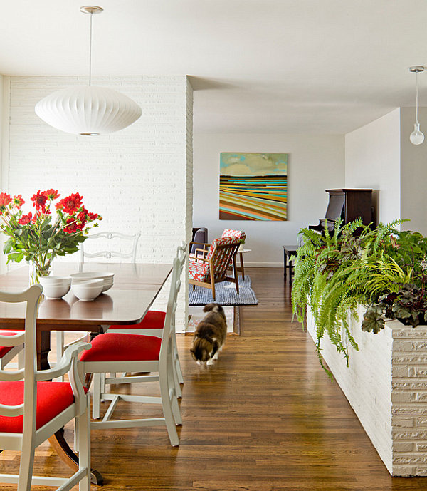 View In Gallery Indoor Planter In A White Walled Home