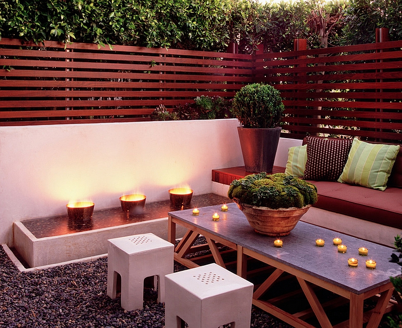 Outdoor Lighting Ideas For Patios. View In Gallery Innovative Lighting Idea  For The Small Outdoor