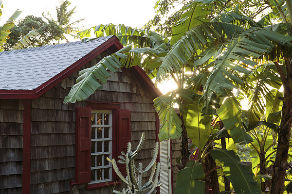 Inviting tropical exterior How To Turn Your Home Into A Personal Retreat