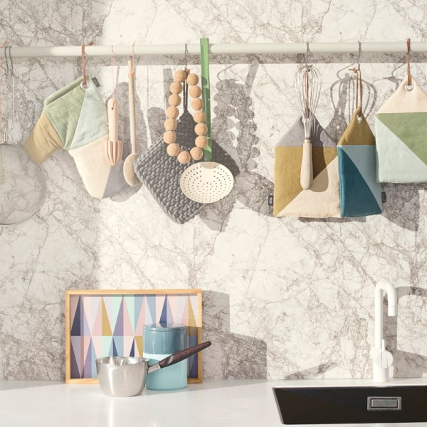 Kitchenware in soft hues
