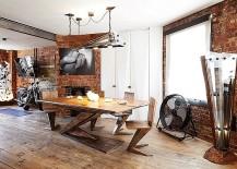 Exposed Brick Walls Meet Sustainable Modern Design In Splendid London Apartment