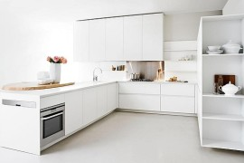 Minimalist Kitchen Offers Space-Saving Solutions For The Small Urban Home