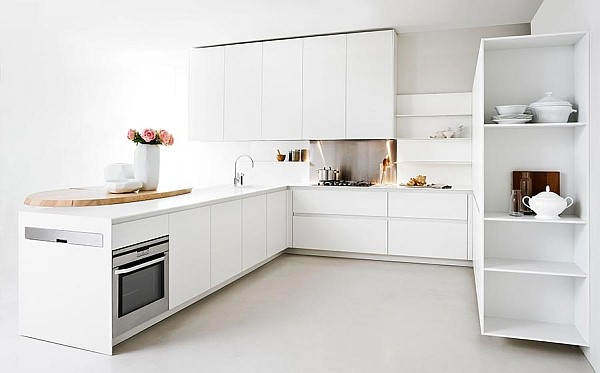 Modern Slim Kitchen for Small Homes