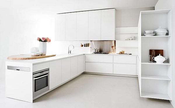 Modern Slim Kitchen for Small Homes