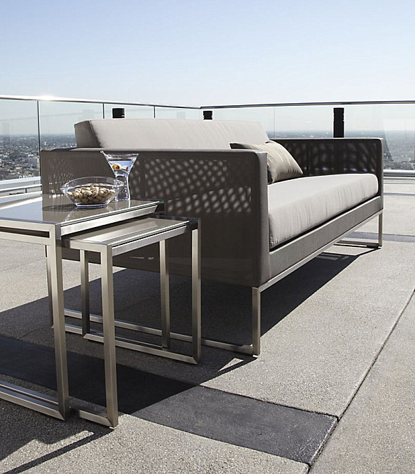 Modern outdoor sofa