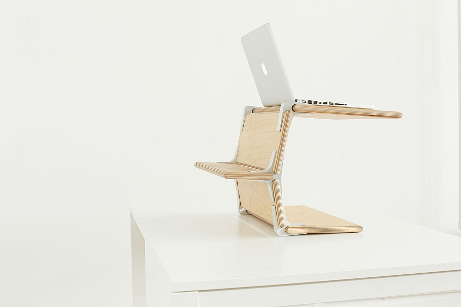 Modos Desk Stand makes for a dynamic work station