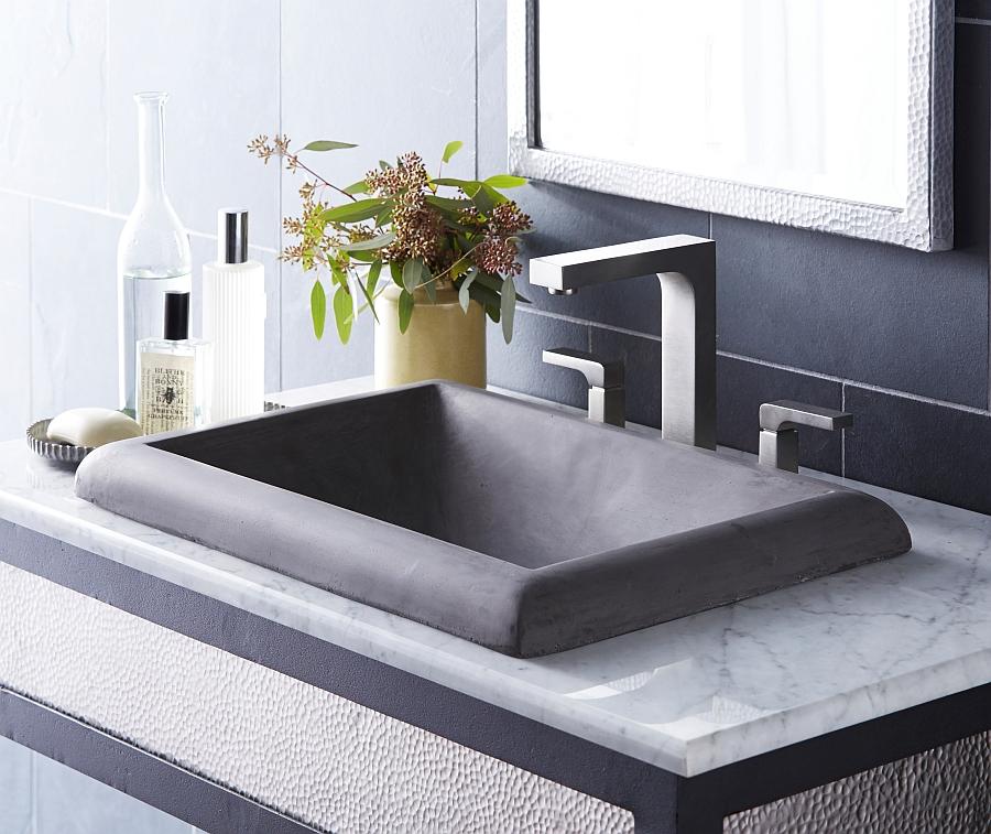 Montecito rectangle lavatory sink