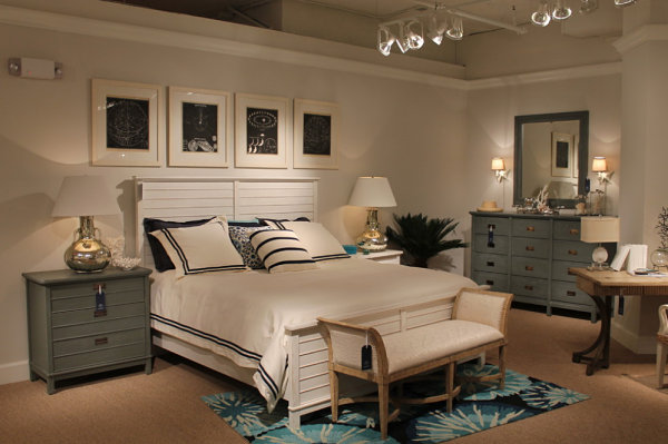 Mood lighting and comfy pillows set a relaxing tone