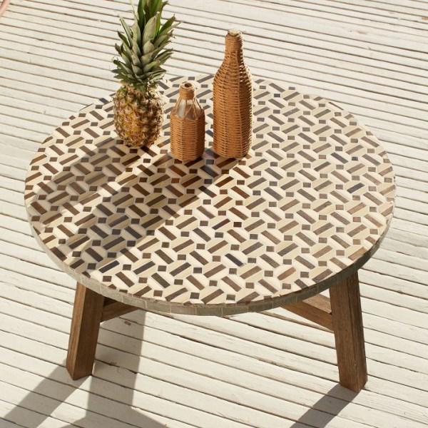 Unique Outdoor Tables: Unique Outdoor Furniture Ideas For Summer