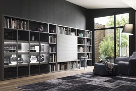 Contemporary Living Room Wall Units For Those Who Love Their Books! Part 82