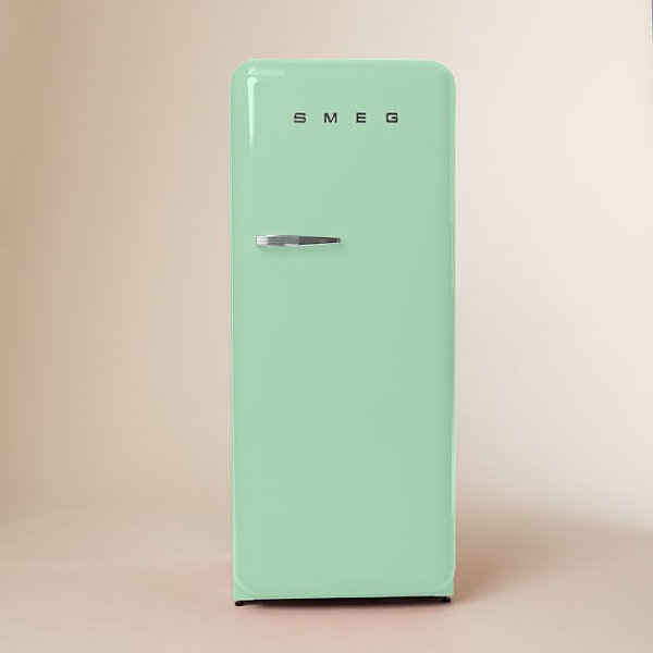 Pastel green refrigerator from SMEG