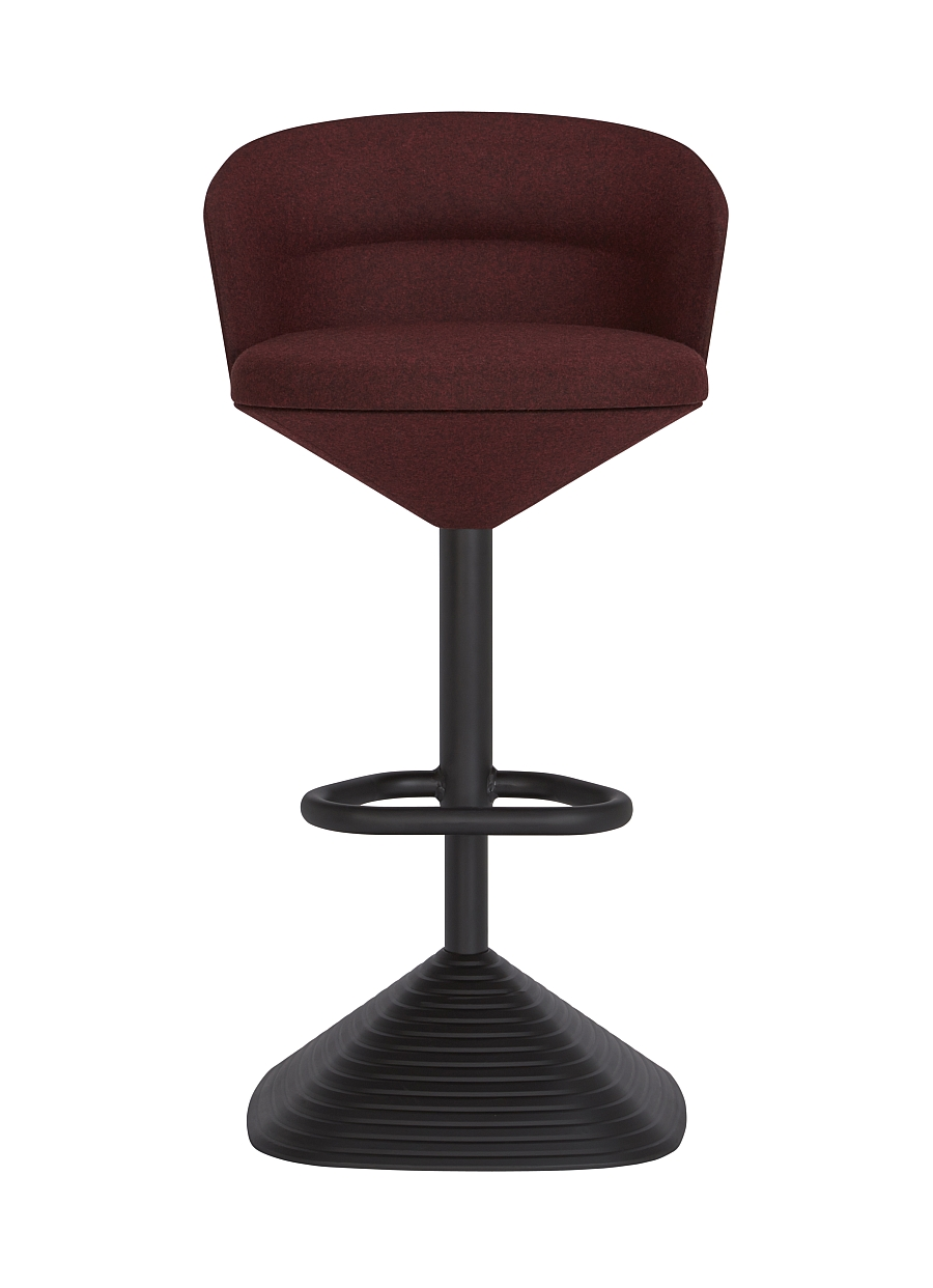 Pivot Bar Stool in Red from Tom Dixon