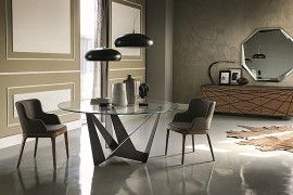 Classy Contemporary Tables Offer Sculptural Style And Geometric Contrast