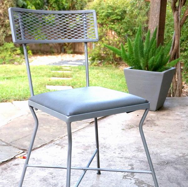 Refurbished vintage chair-001