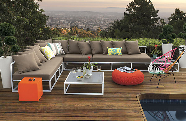 Scenic outdoor patio
