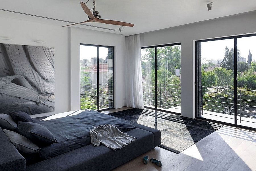 Serene bedroom in simple muted tones