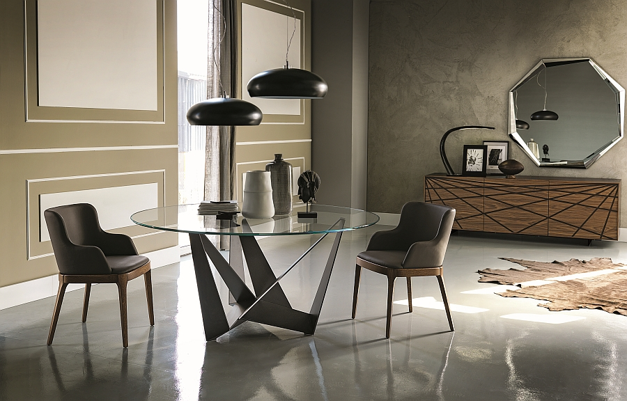 Classy Contemporary Tables Offer Sculptural Style And