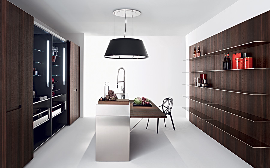 Slim modern kitchen by Elmar