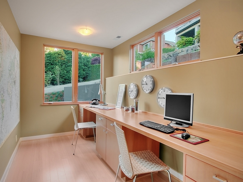 Smart use of space in the home office