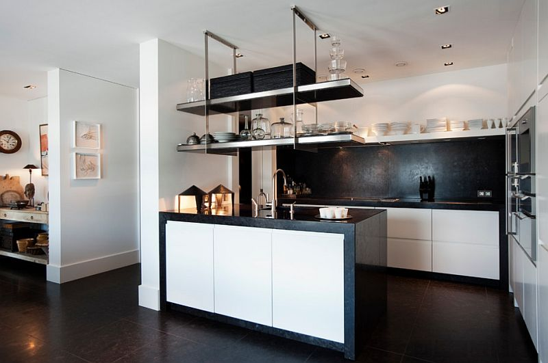 View in gallery Space-saving solutions for the modern kitchen