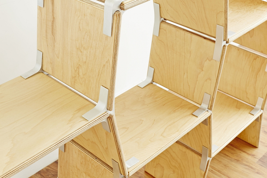 Versatile Furniture modos: tool-free modular furniture system with versatility and