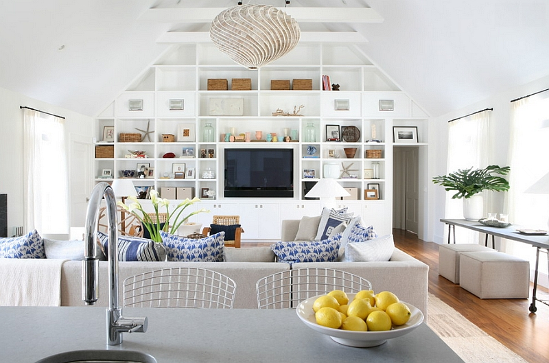 summer-style home decor, let in as much natural light as possible