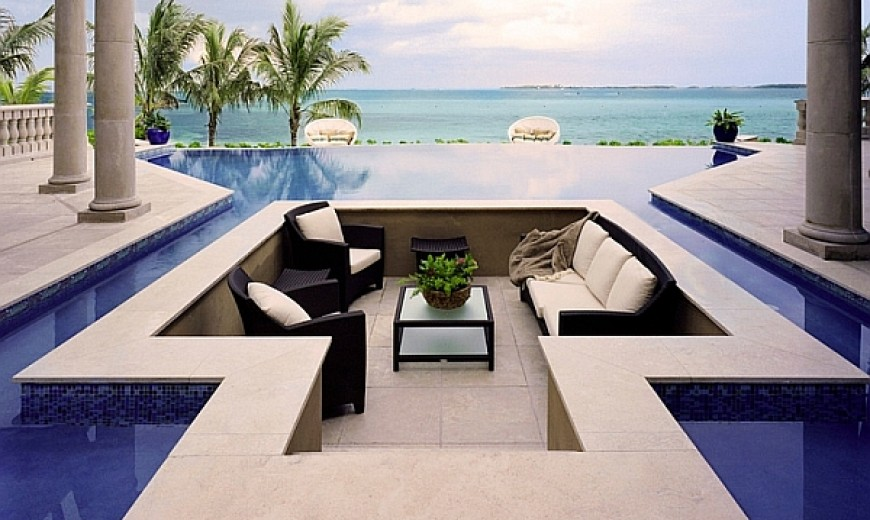 Elevate The Style Quotient Of Your Outdoor Lounge With Sunken Seating