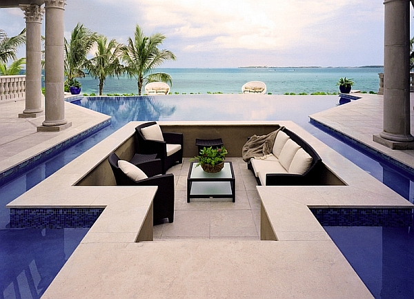 Sunken Seating Outdoor Ideas
