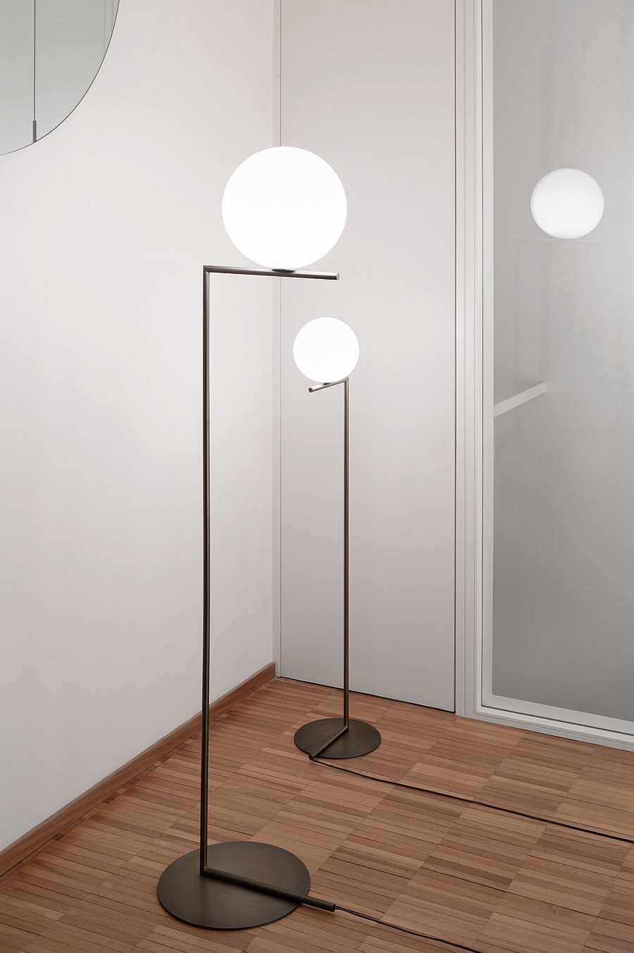 Tall IC floor lamps perfect for the modern home