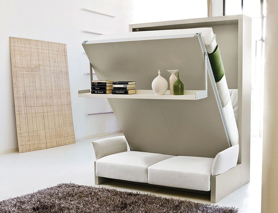 view in gallery the murphy bed in action - Murphy Bed Design Ideas