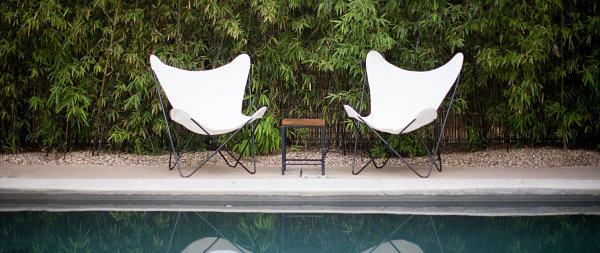 The refreshing pool at Hotel San Jose