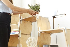 Modos: Tool-Free Modular Furniture System With Versatility And Sustainability