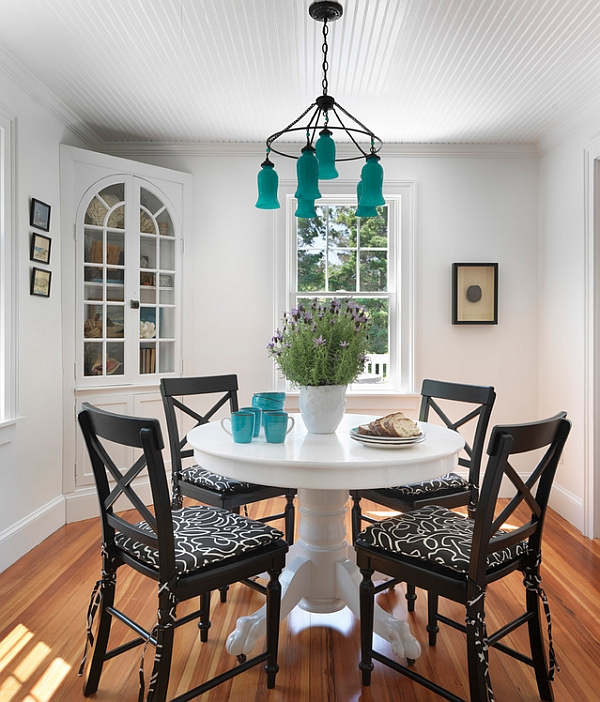 Use the small Sara Milk Glass Chandelier to usher in accent hues with exotic flair!