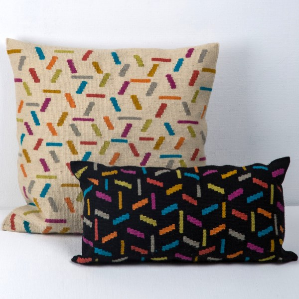 Wool fabric pillows from Darkroom