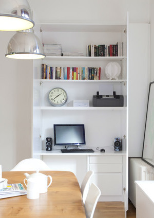 hideaway home office desk