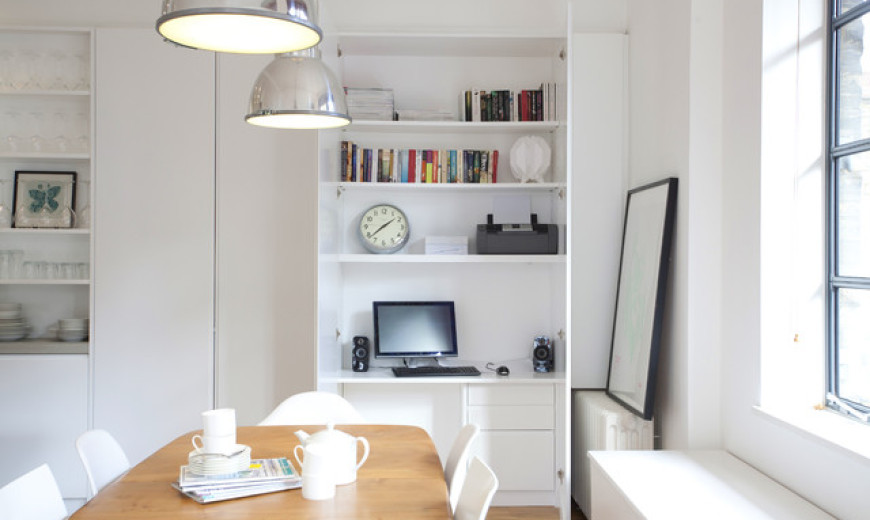 Space Saving Hideaway Desks