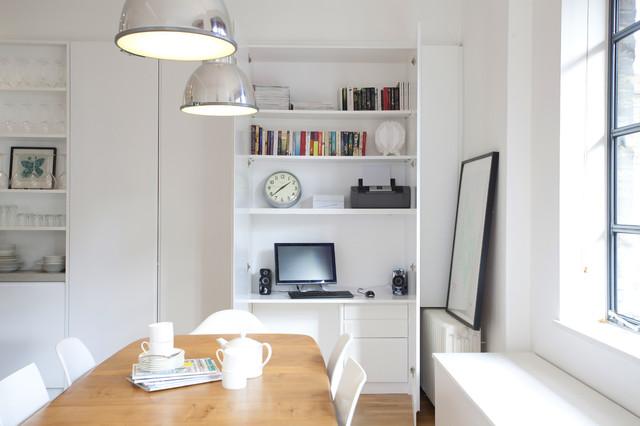 space-saving hideaway desks