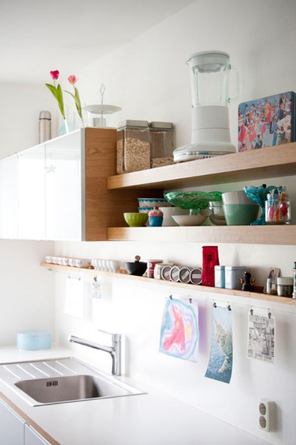 19 floating shelves ideas for a beautiful home Floating shelf ideas for kitchen