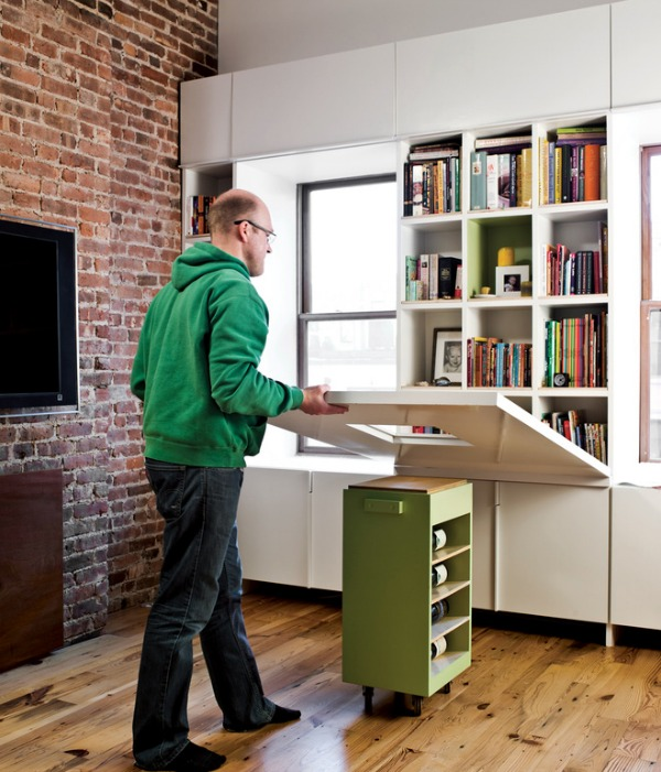 Gentil Space Saving Hideaway Desks