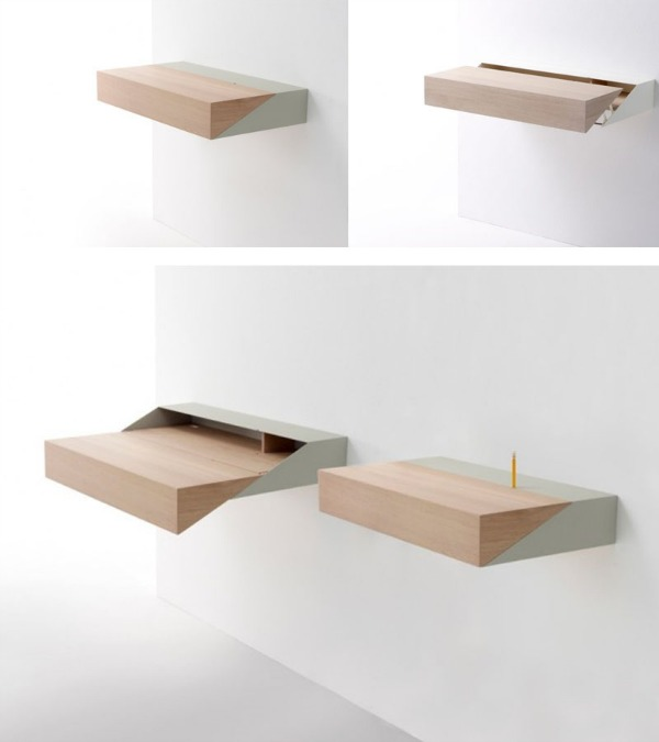 small pull-out desk