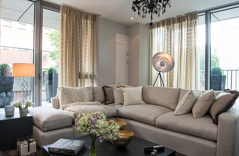 View In Gallery A Floor Lamp That Steals The Spotlight!