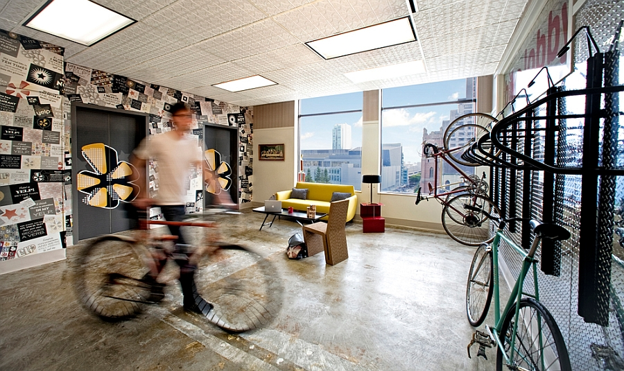 A look inside the snazzy and exclusive Yelp Headquarters in CA