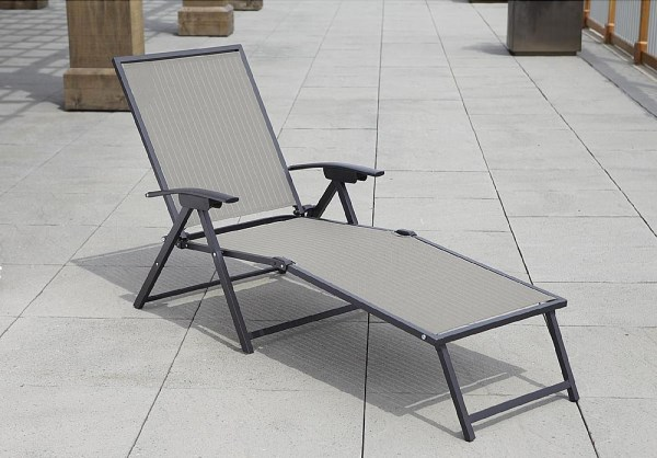 Affordable folding chaise lounge